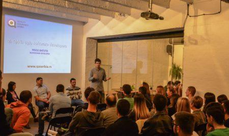Uspešan početak za QA Srbiju na prvom coffee meetup-u!