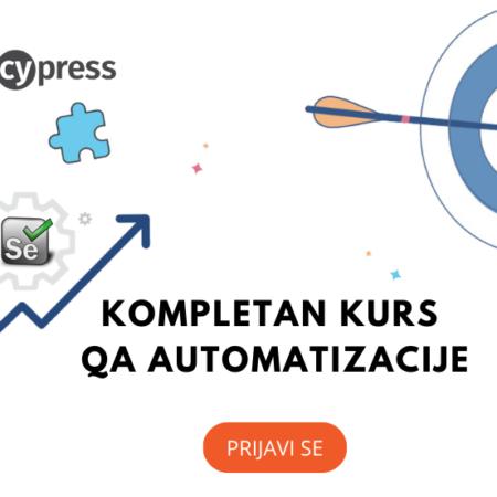 Kompletan kurs QA Automatizacije – Java, Selenium, Cucumber, Cypress,API