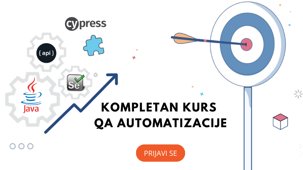 Kompletan kurs QA Automatizacije – Java, Selenium,Cypress,API